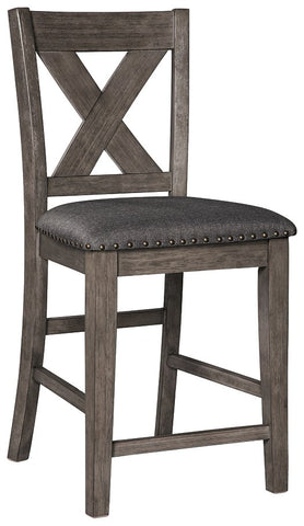 Caitbrook Signature Design by Ashley Upholstered Barstool 1CN image