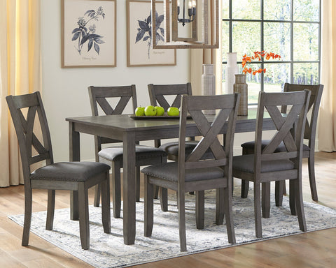 Caitbrook Signature Design by Ashley RECT DRM Table Set 7CN image
