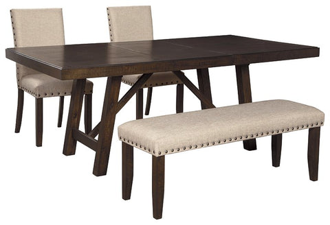 Rokane Signature Design Dining Table 4-Piece Dining Room Package