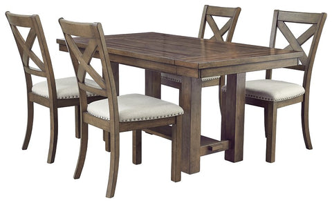 Moriville Signature Design 5-Piece Dining Room Set image
