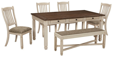 Bolanburg 6-Piece Dining Room Package D647