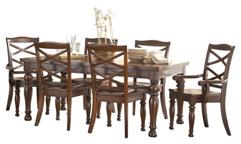 Porter 7-Piece Dining Room Package D697