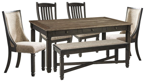 Tyler Creek Signature Design 6-Piece Dining Room Package image
