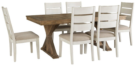 Grindleburg 7-Piece Dining Room Package D754