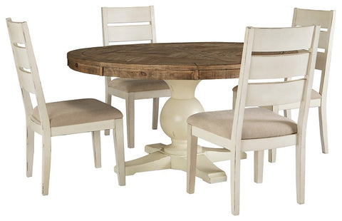 Grindleburg 5-Piece Dining Room Package D754