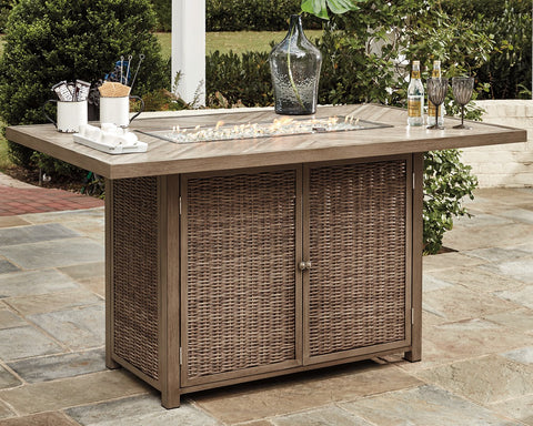 Beachcroft Signature Design by Ashley Pub Table image