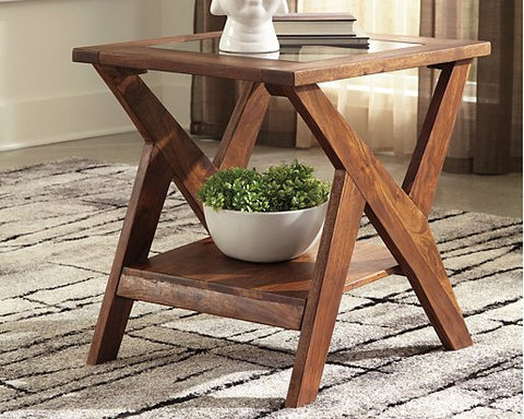 Charzine Signature Design by Ashley End Table image