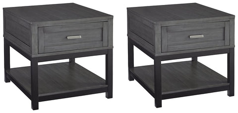 Caitbrook Signature Design 2-Piece End Table Set image