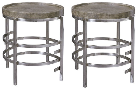Zinelli Signature Design 2-Piece End Table Set