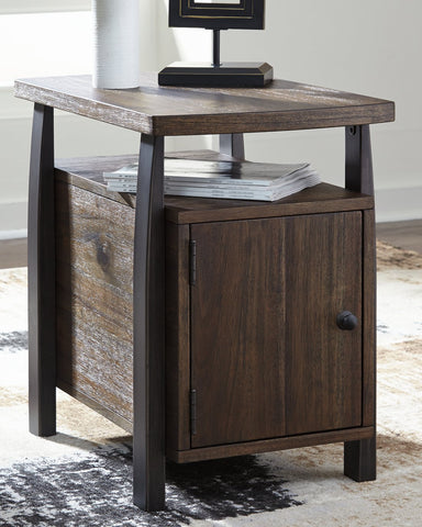 Vailbry Signature Design by Ashley End Table Chair Side image