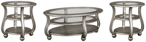 Coralayne Signature Design 3-Piece Occasional Table Set image