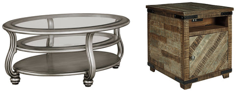Coralayne Signature Design 2-Piece Table Set image