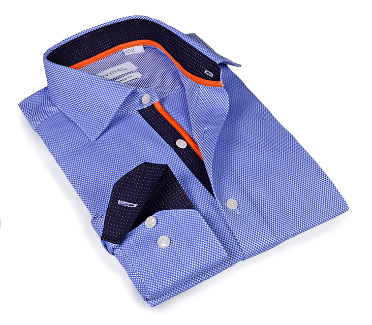 Signature Blue Twill Shirt - Tailored (Slim) Fit