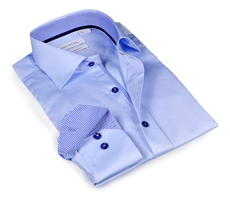 Essential Collection Light Blue shirt -  Slim Fit