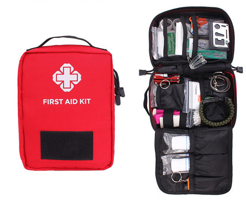 First Aid Pouch Outdoor Survival Medical Kit - 2 Colors