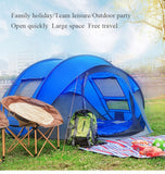 3-4 Person Speed Setup Outdoor Tent - 3 Colors