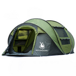 3-4 Person Quick Setup Outdoor Tent - 3 Colors