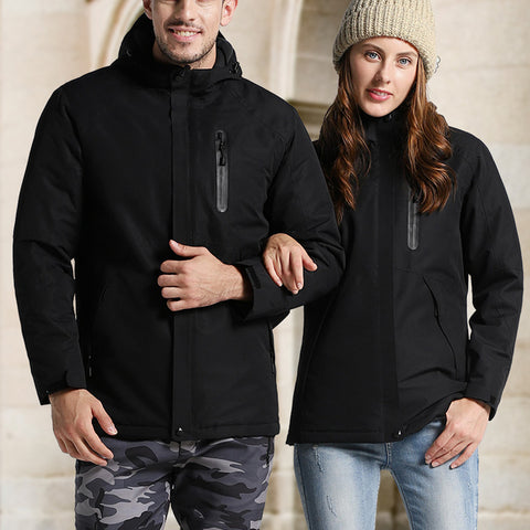 Heated Jacket Men & Women - S-3XL - 4 Styles 6 Colors