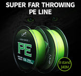 Braid WX8 Fishing Line 140M 8 Stands Multifulament PE Line - 9 Weights