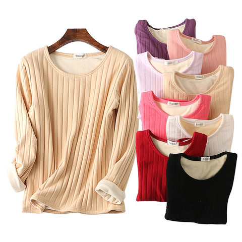 Long Sleeve Basic Slim fit T-shirt - 9 Colors