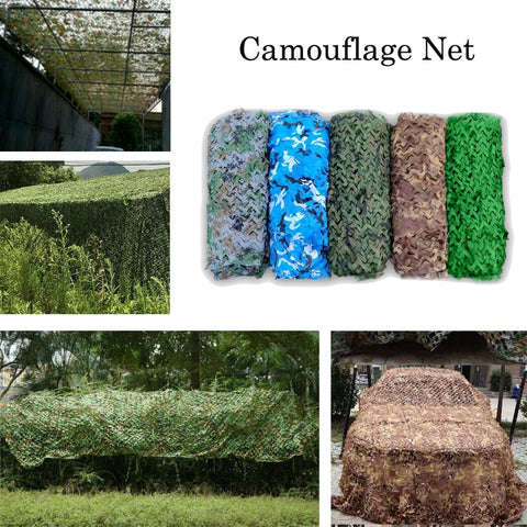 Camouflage Net 150D Hunting Cover - 7 Sizes