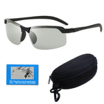 Polarized Camping All Use Unisex Glasses & Clip On Zip Case