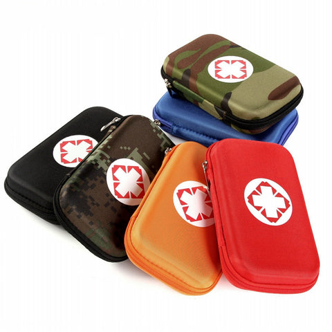 Camouflage First Aid Waterproof EVA Bag - 8 Colors