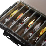 Fishing Lure Box Double Sided 14 Compartments - 5 Colors