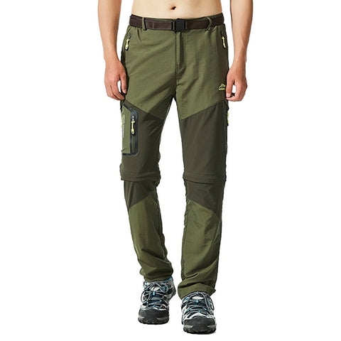 Men Hiking Waterproof Windproof Quick Dry Pant