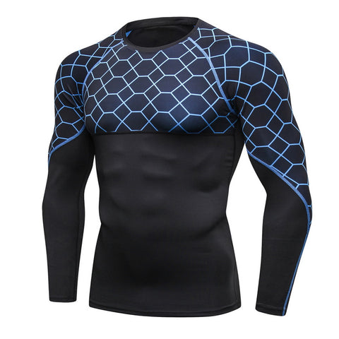Sport Quick Dry Compression Shirts - S-2XL