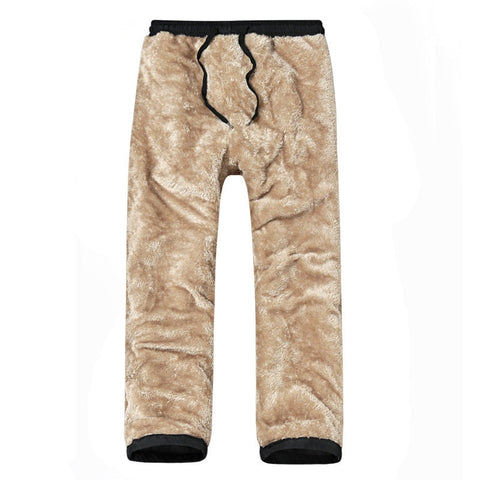 Outdoor Warm Soft Drawstring waist Pant