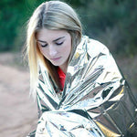 Emergency Survival Thermal Insulation Mylar Blanket - 2 Colors