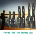 Fishing Rod Reel Tackle Folding Bag  - 3 Sizes - 2 Colors