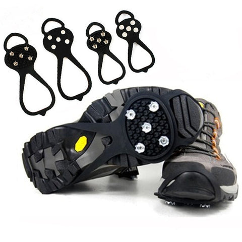 Ice Gripper Anti-Slip Walking Shoe Cleat - S-XL Size