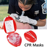CPR First Aid CPR Breathing Respiration Mask
