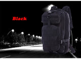 Outdoor Military Rucksacks 1000D Nylon 30L Waterproof Tactical Backpack - 8 Colors
