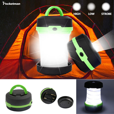 LED Multifunctional Telescopic Folding Camping Light - 5 Colors