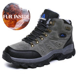 Unisex Pro-Mountain Winter Fur lined Hiking Shoes - Sz 36-48