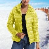 Ladies Warm Fashion Hooded Coat - S-3XL - 5 Colors