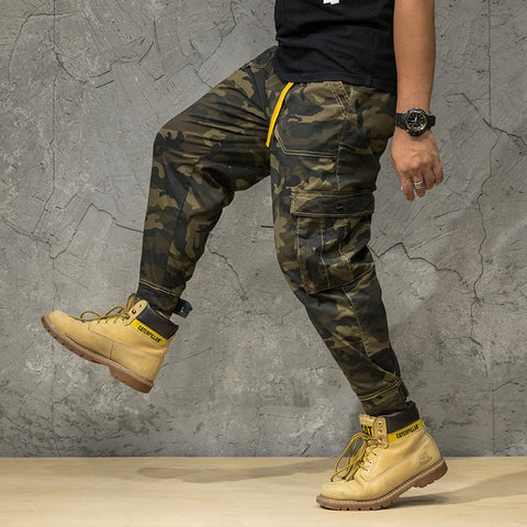 Outdoor Mens Camouflage Army Green Pant
