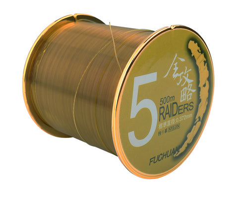 500M 10-42LB Nylon Fishing Line Long Monofilament - 3 Colors