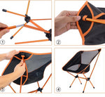 Travel Ultralight Folding Portable Chair - 4 Colors