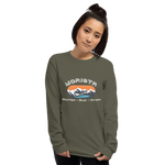 Women's White Moristr™ Long Sleeve Shirt - S-5XL - 8 Colors