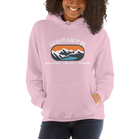 Women's White Moristr™ Hoodie - S-5XL - 4 Colors
