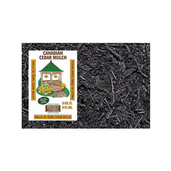 10 Bags - Black Cedar Mulch 3 Cu. (Store Pickup Only)