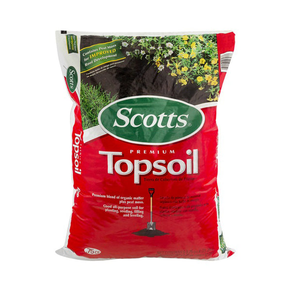 10 Bags - Scotts Premium Top Soil .75 Cu. (Store Pickup Only)