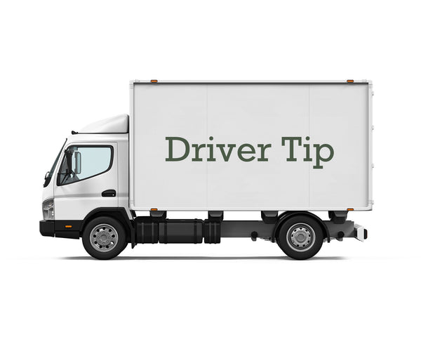 Driver Tip (Does Not Count Towards Order Total For Free Shipping)