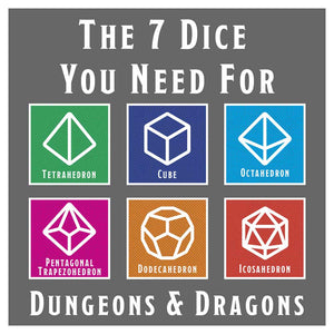 The 7 Dice You Need For Dungeons & Dragons