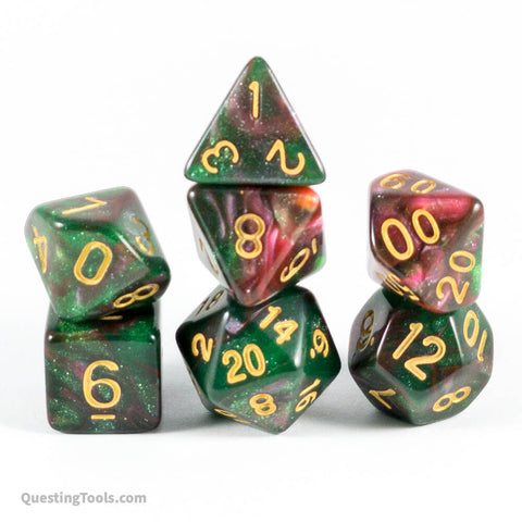 Star-Forming Region Dice - Acrylic Dice - Questing Tools