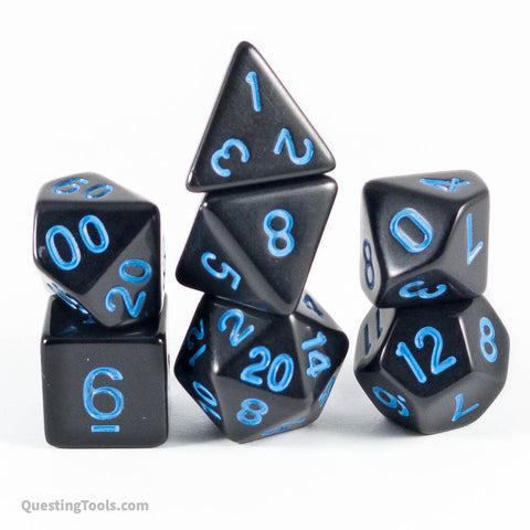 Forbidden Lightning Dice - Acrylic Dice - Questing Tools